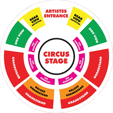 Book Tickets & Seating Plan Information· - Moscow State Circus